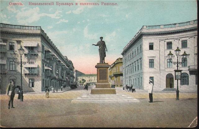 Картинки по запросу 1823-1824 рр. — пам'ятник А. Рішельє в Одесі (В. Мартос)